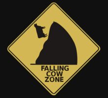 Falling Cow by caymanlogic