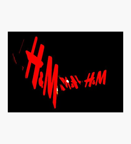 H&M, Munich Photographic Print