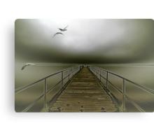 geese flight Canvas Print