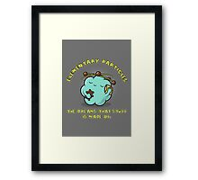 The Dreams That Stuff is Made of. Framed Print