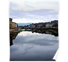 Sopra il fiume di Arno Poster