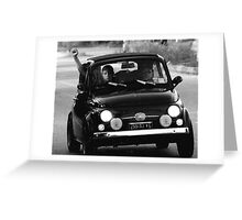 Fiat Rally Northern Italy Greeting Card