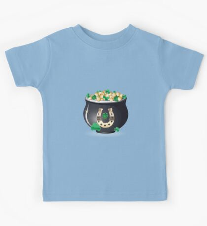 Pot of gold 3 Kids Tee