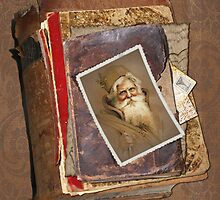 Old World Santa by Beverly Lussier