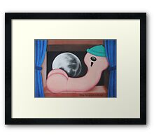 Things that go bump in the night Framed Print