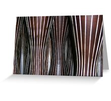 Jungle of Lines Greeting Card