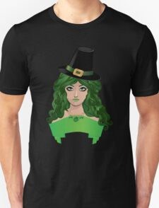 Leprechaun girl 4 Unisex T-Shirt