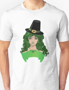 Leprechaun girl 4 T-Shirt