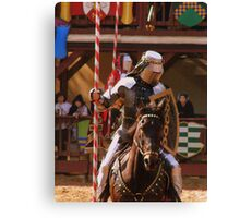 Tournament of Knights Canvas Print
