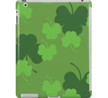 Shamrock or clover 4 iPad Case/Skin