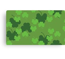Shamrock or clover 4 Canvas Print