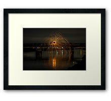 Burning Pyre Framed Print