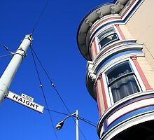 Haight 1500 Block by Harry Snowden