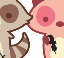 Army of Too Cute Sticker