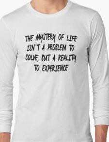 The Mystery of Life - Dune T-Shirt