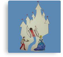 Cinderella Canvas Print