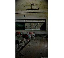 Empty spaces Photographic Print