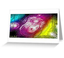 Picture 2015047 Justin Beck Celestial Beings Greeting Card
