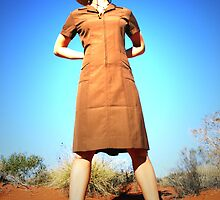 the desert cowgirl... by Keiran Lusk