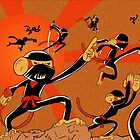 Attack of the 10 Ninja Monkey Fury Showdown! by Angelo Gines Jr.