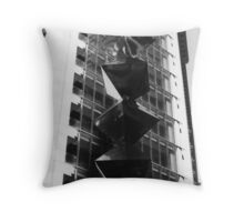 City Sculpture Throw Pillow