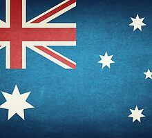 Flag Of Australia by Olga Altunina