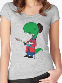 RÖH - Jimi Hendrix Women's Fitted Scoop T-Shirt
