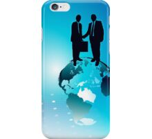 Global Business Background iPhone Case/Skin