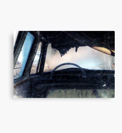 9.3.2015: Abandoned Car Canvas Print