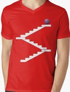 18 Levels Mens V-Neck T-Shirt