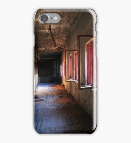 9.3.2015: Morning Light in Abandoned Factory iPhone Case/Skin