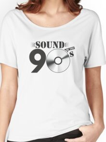Sound of the 90s Logo Women's Relaxed Fit T-Shirt