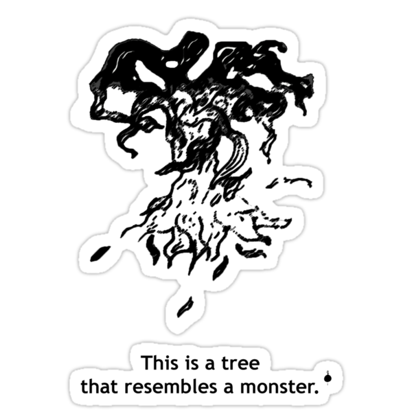 Monster Tree by oldmanradish