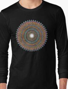 FractalConeToDnaPulse Long Sleeve T-Shirt