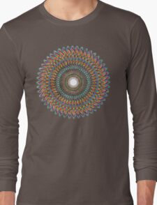 FractalConeToDnaPulse Long Sleeve T-Shirt