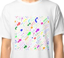Colorful arrows Classic T-Shirt