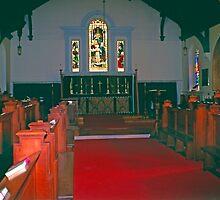 Chapel, King's College Halifax, Novia Scotia by Priscilla Turner