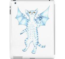 Batty Blue Kitty iPad Case/Skin