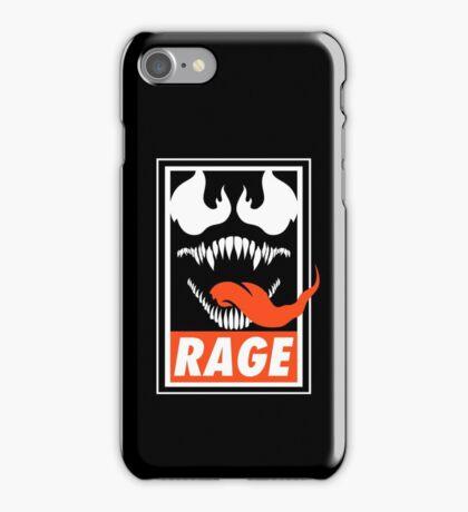 Rage. iPhone Case/Skin