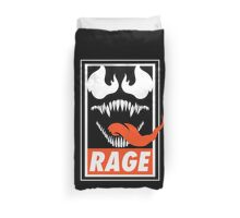 Rage. Duvet Cover