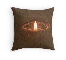 Candle Rim Throw Pillow