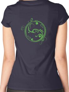 green life Women's Fitted Scoop T-Shirt