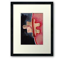 Seepage #13 Framed Print