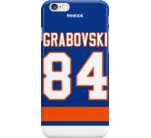 New York Islanders Mikhail Grabovski Jersey Back Phone Case iPhone Case/Skin