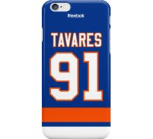 New York Islanders John Tavares Jersey Back Phone Case iPhone Case/Skin