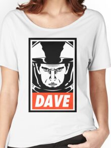 Dave. Women's Relaxed Fit T-Shirt