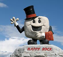 Happy Rock by Teresa Zieba