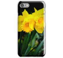 Twin Daffodils iPhone Case/Skin