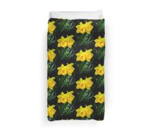 Twin Daffodils Duvet Cover
