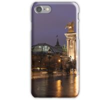 Evening walk iPhone Case/Skin